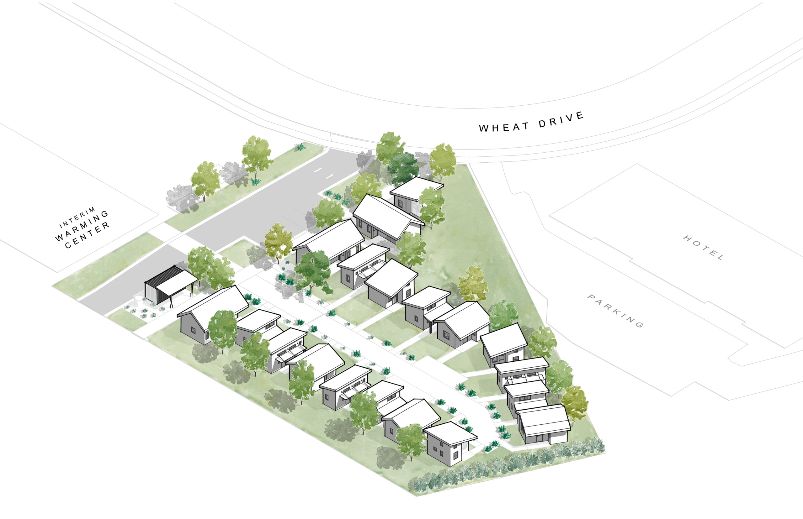 HRDC Housing First Village site plan