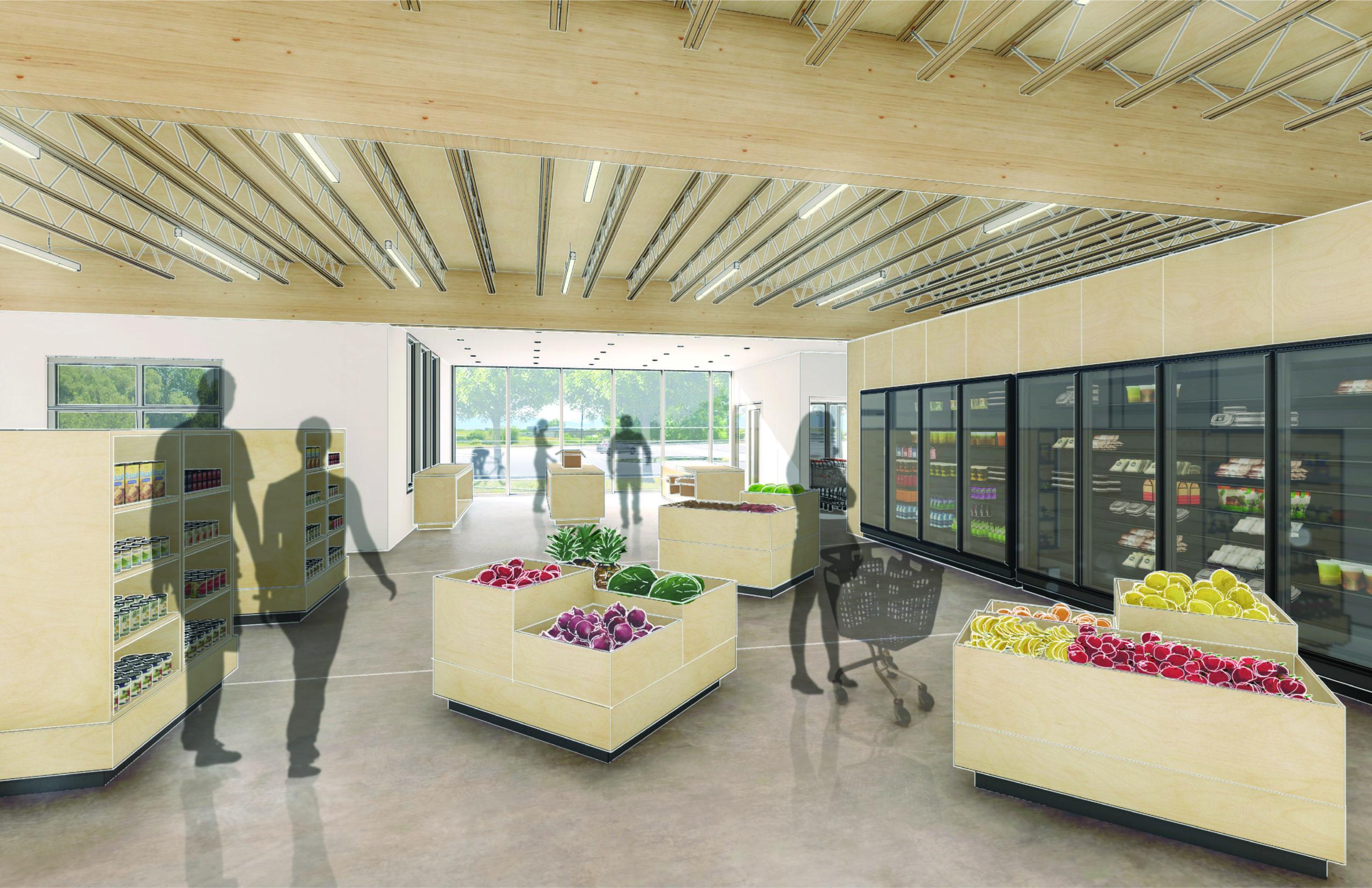 HRDC food resource center store